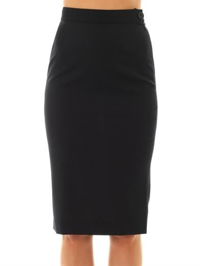 Vivienne Westwood Anglomania Basic pencil skirt
