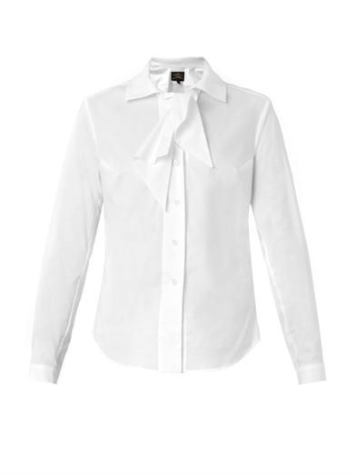 Vivienne Westwood Anglomania Approval cotton shirt