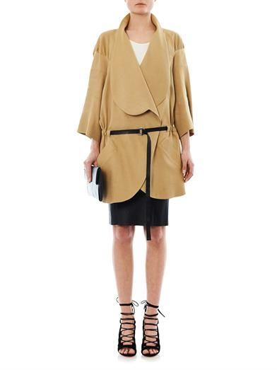 Vivienne Westwood Red Label Linen-blend slouchy coat