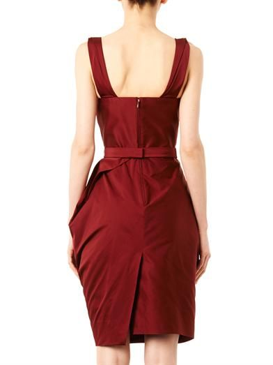 Vivienne Westwood Red Label Corseted faille dress