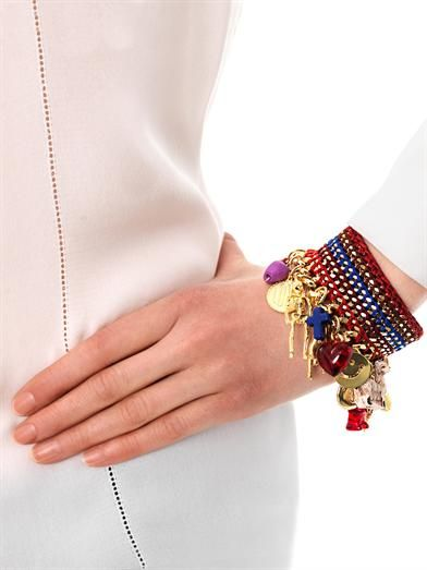 Venessa Arizaga Forgive and forget charm bracelet