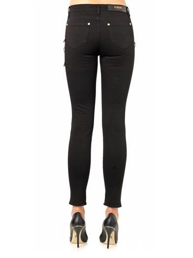 Versus High-rise skinny jeans