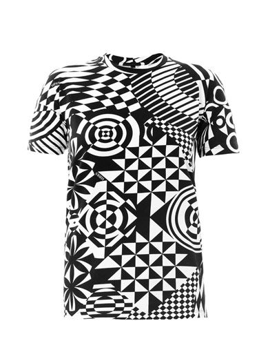Versus Geometric-print T-shirt