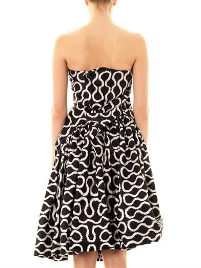 Vivienne Westwood Gold Label Exclusive Blossom squiggle-print dress