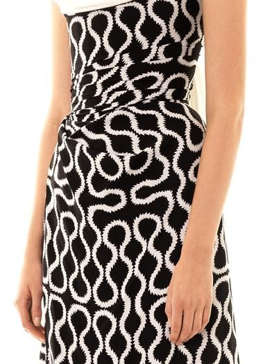 Vivienne Westwood Gold Label Exclusive Ball tie squiggle-print gown