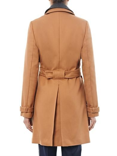 Vanessa Bruno Athé Double-breasted trench coat