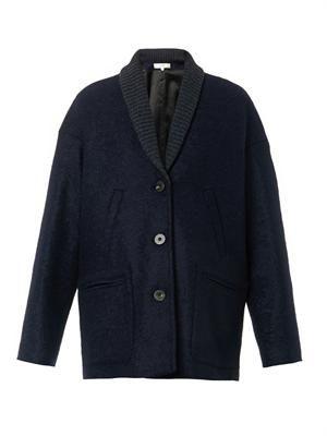 Bodouin bouclé wool coat