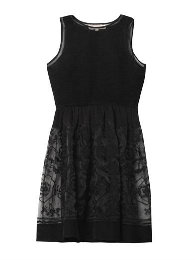 Vanessa Bruno Athé Embroidered silk dress