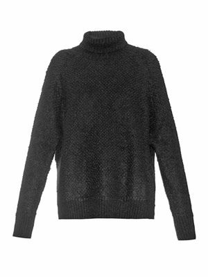 Baby textured-knit sweater