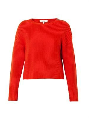 Belier ribbed-knit wool sweater