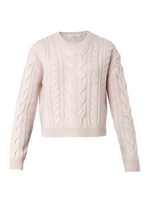 Bidule cable-knit sweater