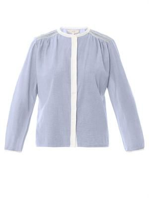 Cotton-voile shirt
