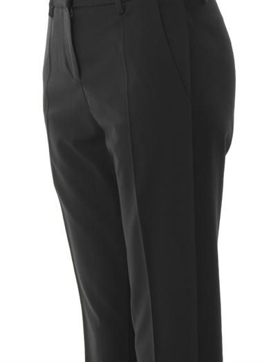 Vanessa Bruno Athé Tailored woven-front trousers