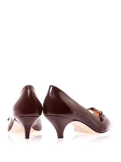 Duccio Venturi Point-toe Mary Jane pumps