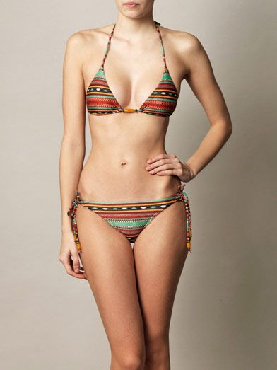 Vix Sahara tribal bikini briefs