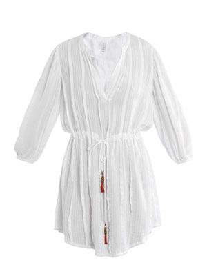 Christy pleated kaftan
