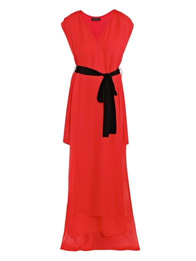 Vionnet Georgette full-length dress