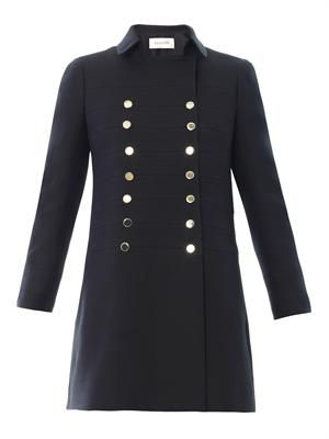 Military double-breasted coat