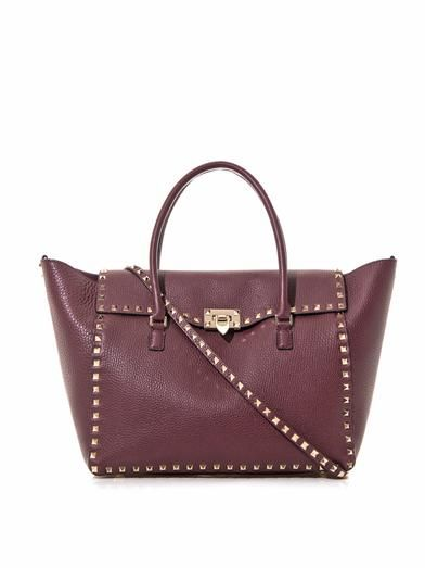 Valentino Rockstud double handle tote