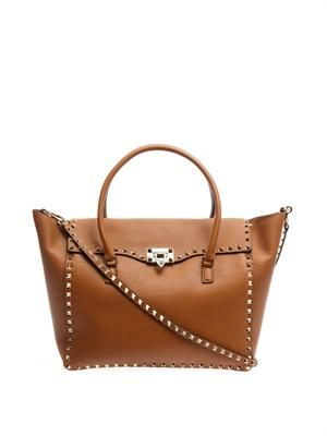 Rockstud shopper bag