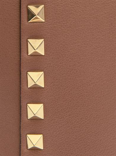 Valentino Rockstud double-handle small tote