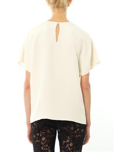 Valentino Mikado silk blouse