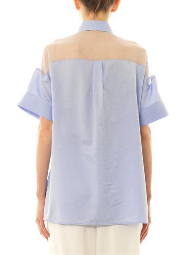 Valentino Silk and cotton blouse