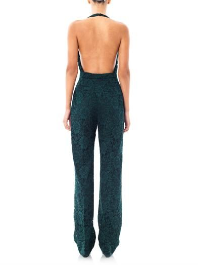 Valentino Backless lace jumpsuit