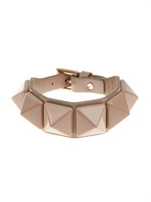 Punk Couture patent leather bracelet