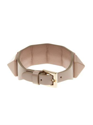 Valentino Punk Couture patent leather bracelet