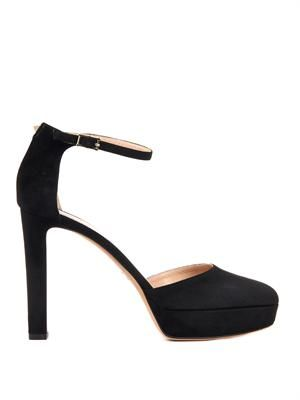 Cult suede pumps