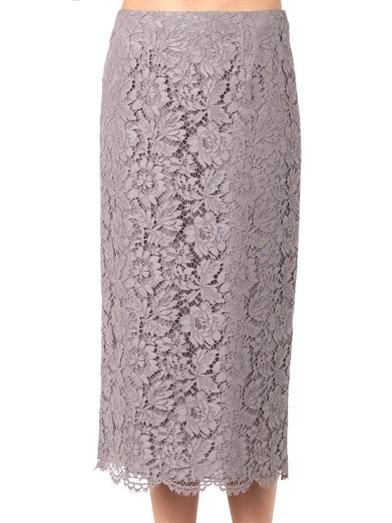 Valentino Lace pencil skirt