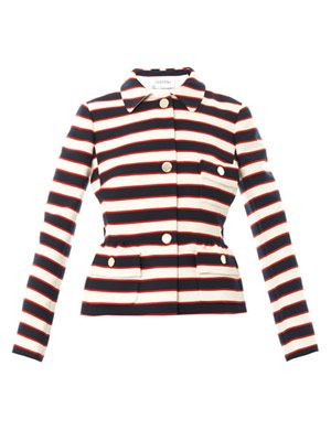 Super stripe jacket