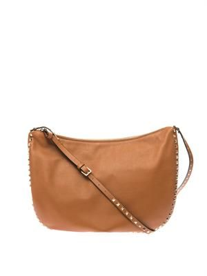Rockstud hobo bag