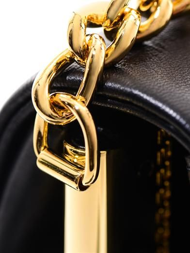 Versace Medusa leather shoulder bag