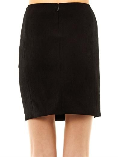 Versace Buckle detail mini skirt
