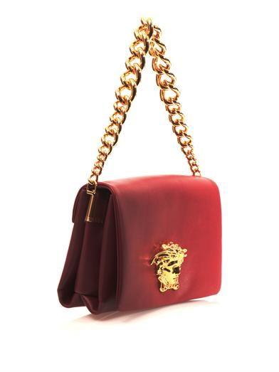 Versace Idol leather shoulder bag