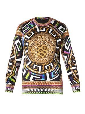 Psychedelic-print sweatshirt