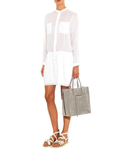 Vince Voile tunic-dress