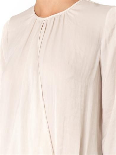 Vince Cross-front drape top