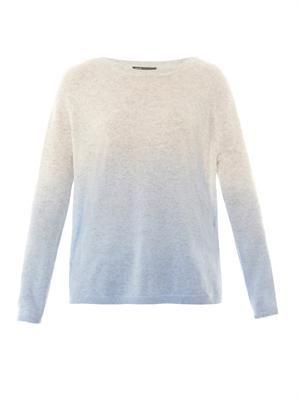 Dip Dye wool-cashmere sweater