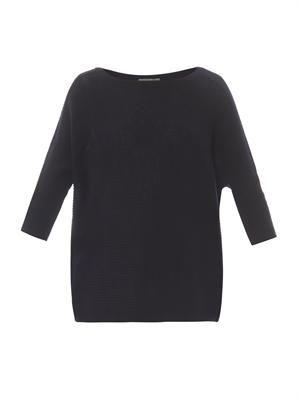 Popover cashmere sweater
