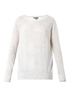 Square cashmere sweater