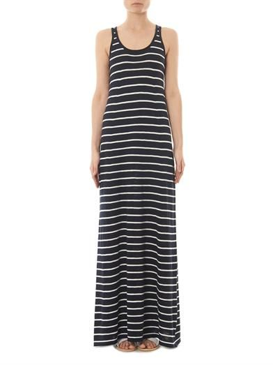 Vince Striped maxi dress
