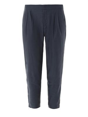Lightweight tailored trousers