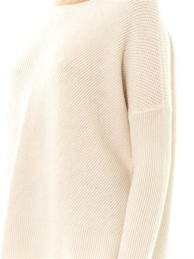 Vince Chevron-knit wool sweater