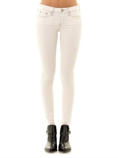 Vince Dylan low-rise skinny jeans