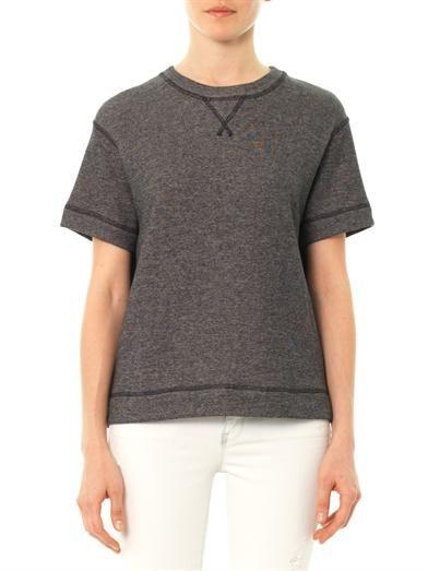 Vince Short sleeve sweatshirt