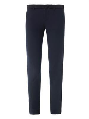 Tuxedo wool trousers