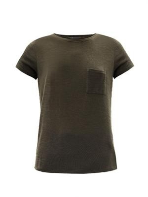 Slinky chest pocket T-shirt
